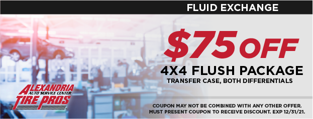 $75 OFF 4x4 Flush Package